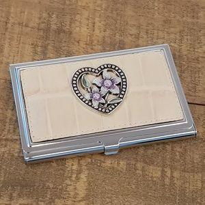 🚫SOLD🚫BRIGHTON HeartBusiness Card Case Holder.